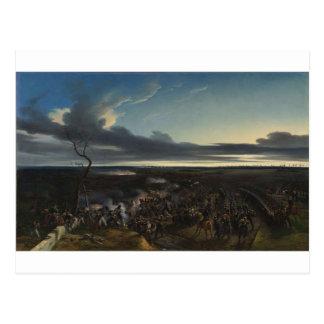 Cartão Postal A batalha de Montmirail por Horace Vernet