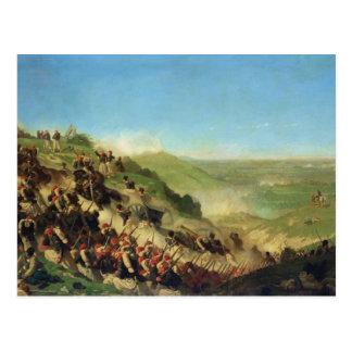 Cartão Postal A batalha de Solferino, o 24 de junho de 1859
