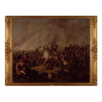 Cartão Postal A batalha de Waterloo