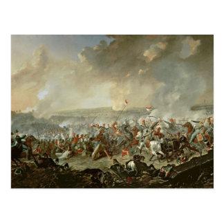 Cartão Postal A batalha de Waterloo, o 18 de junho de 1815