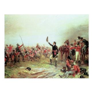 Cartão Postal A batalha de Waterloo, o 18 de junho de 1815 2