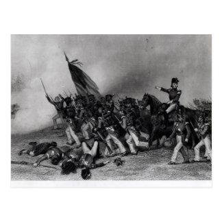 Cartão Postal A batalha do Chippewa