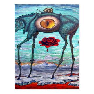 Cartão Postal A beleza está no olho do espectador
