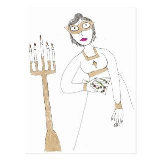 Cartão Postal A bola mascarada assustador de Jane Austen