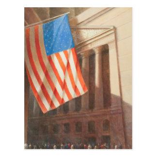 Cartão Postal A Bolsa de Nova Iorque 2010