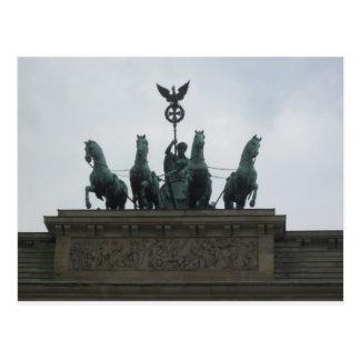 Cartão Postal A Brandenburger baliza