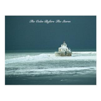 Cartão Postal A calma antes da tempestade