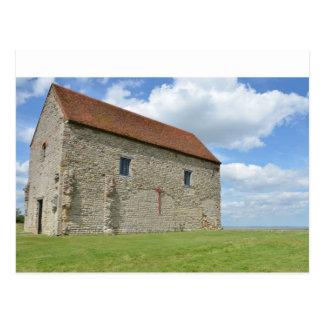 Cartão Postal A capela Bradwell Essex de St Peter