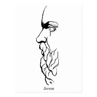 Cartão Postal A cara de Socrates