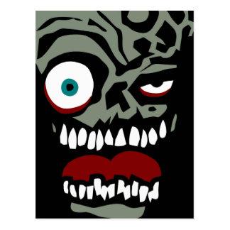 Cartão Postal A cara do zombi da desgraça