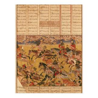 Cartão Postal A carga dos Cavaliers de Faramouz