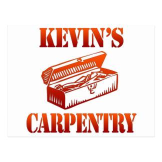 Cartão Postal A carpintaria de Kevin