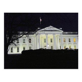 Cartão Postal A casa branca no Washington DC 002 da noite