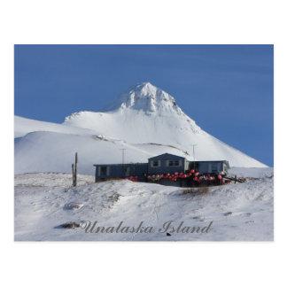 Cartão Postal A casa da bóia abaixo da montanha da pirâmide