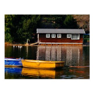 Cartão Postal A casa de barco
