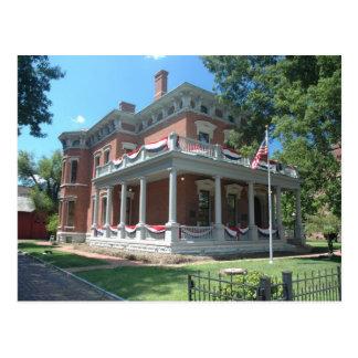 Cartão Postal A casa de Benjamin Harrison