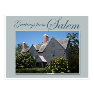 Cartão Postal A casa de sete frontões