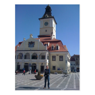 Cartão Postal A casa do Conselho, Brasov, Romania