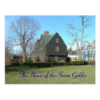 Cartão Postal A casa dos sete frontões