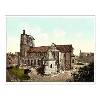 Cartão Postal A catedral, Brunsvique (isto é Bransvique), germe
