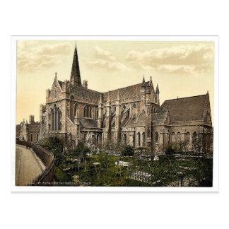 Cartão Postal A catedral de St Patrick. Dublin. Co. Dublin,
