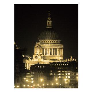 Cartão Postal A catedral de St Paul