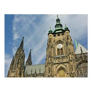 Cartão Postal A catedral de Vitus do santo, Praga (4)