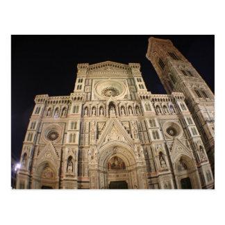 Cartão Postal A catedral do domo, Firenze