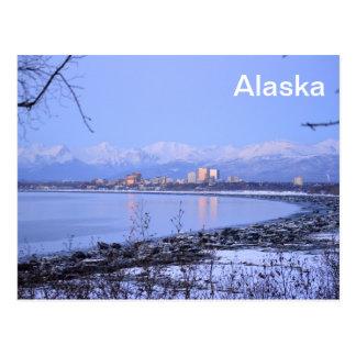 Cartão Postal A cidade de Anchorage, Alaska