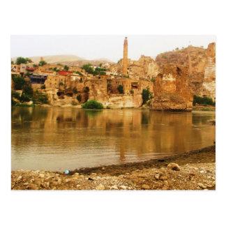 Cartão Postal A cidade de Hasankeyf, FOTO de Turquia