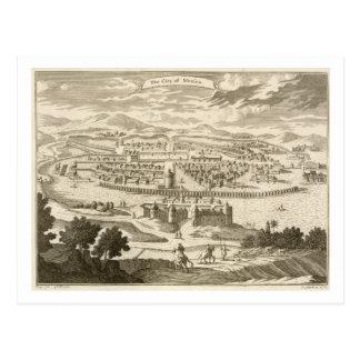 Cartão Postal A cidade de México, 1723 (gravura)