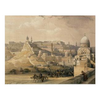 """Cartão Postal A citadela do Cairo, de """"Egipto e de Nubia """""""