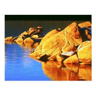 Cartão Postal A coleção da rocha