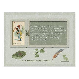 Cartão Postal A coleção de Alice: Cozimento da duquesa