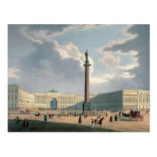 Cartão Postal A coluna de Alexander e as matrizes do exército