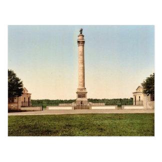 Cartão Postal A coluna do grande exército, cla de Boulogne,