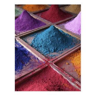 Cartão Postal a composição colorful_world2 pulveriza o estilo da