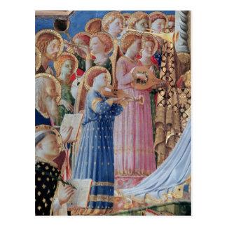 Cartão Postal A coroação da virgem