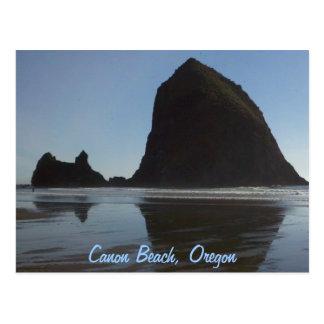 Cartão Postal A costa Canon de Oregon encalha