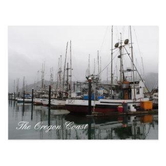 Cartão Postal A costa de Oregon