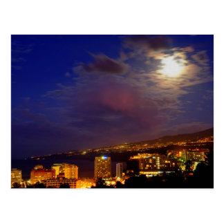 Cartão Postal A costa noroeste de Tenerife