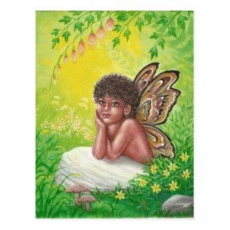 Cartão Postal A criança dos países das fadas