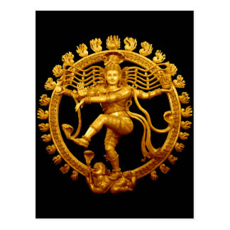 Cartão Postal A dança de Shiva