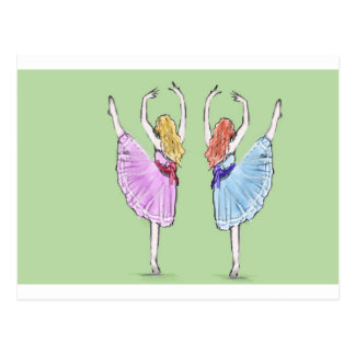 Cartão Postal A dança é poesia no movimento