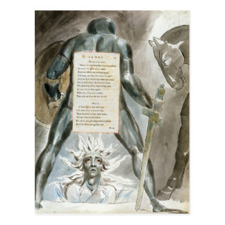 """Cartão Postal """"A descida de Odin"""", projeta 81 """"dos poemas o"""
