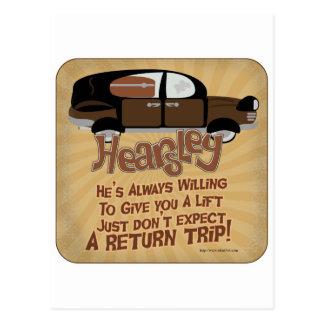 Cartão Postal A divisa de Hearsley