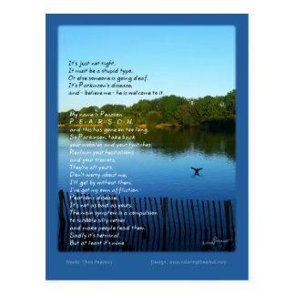 Cartão Postal A doença de Pearson - Chris Pearson