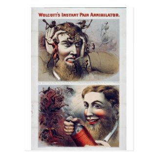 Cartão Postal A dor imediata Annihilator de Wolcott