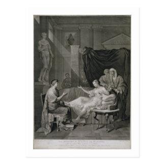 Cartão Postal A entrevista de Augustus e de Cleopatra, gravada