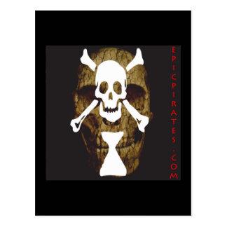 Cartão Postal A epopeia pirateia a bandeira #10